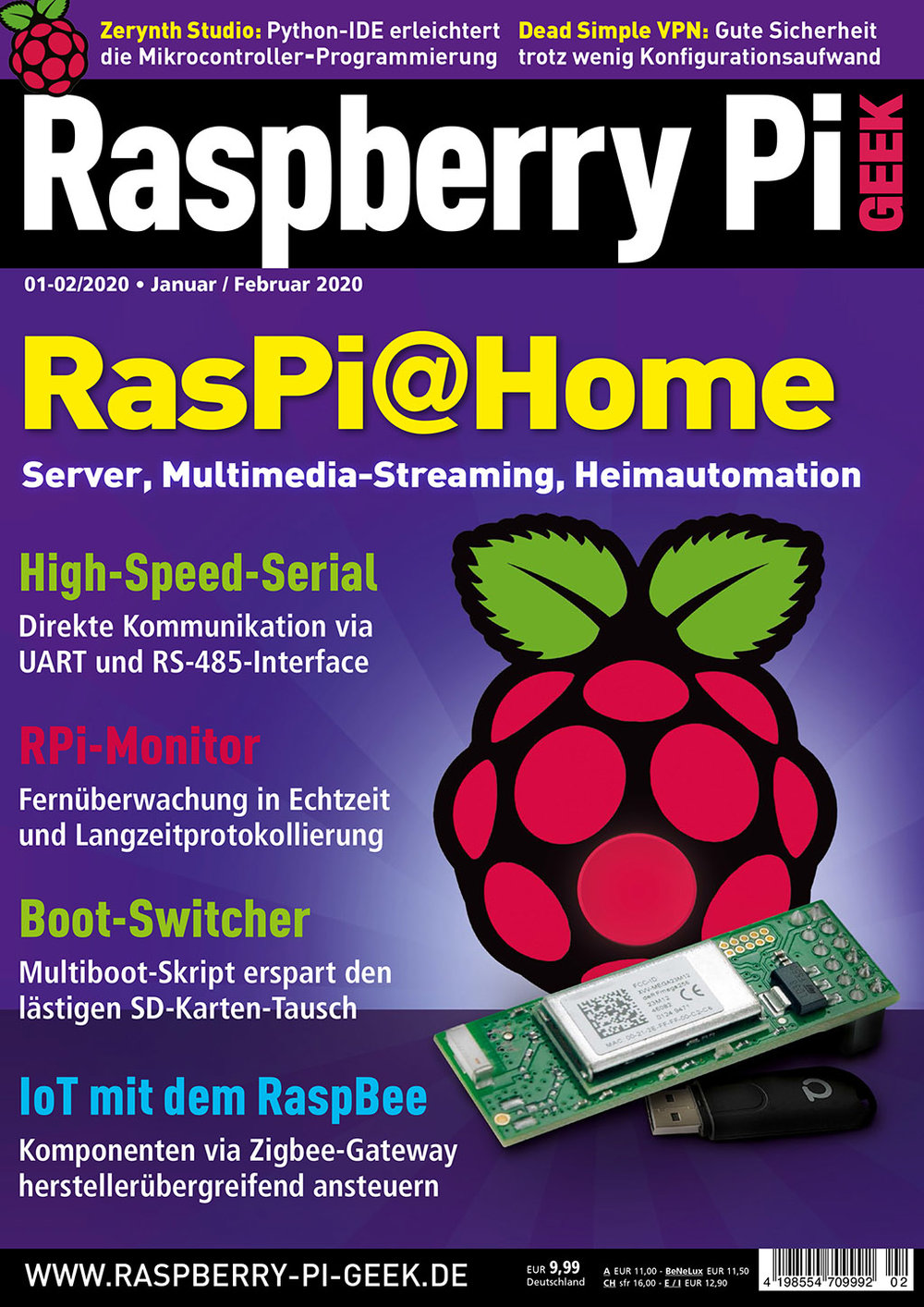 Raspberry Pi Geek 01-02/2020