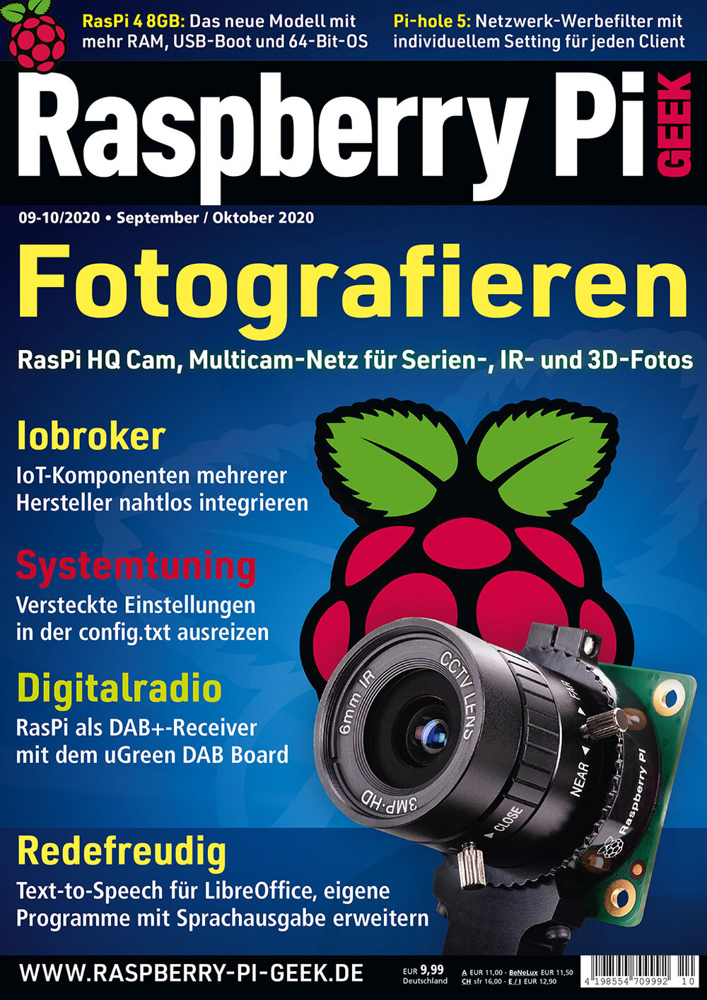 Raspberry Pi Geek 10/2020
