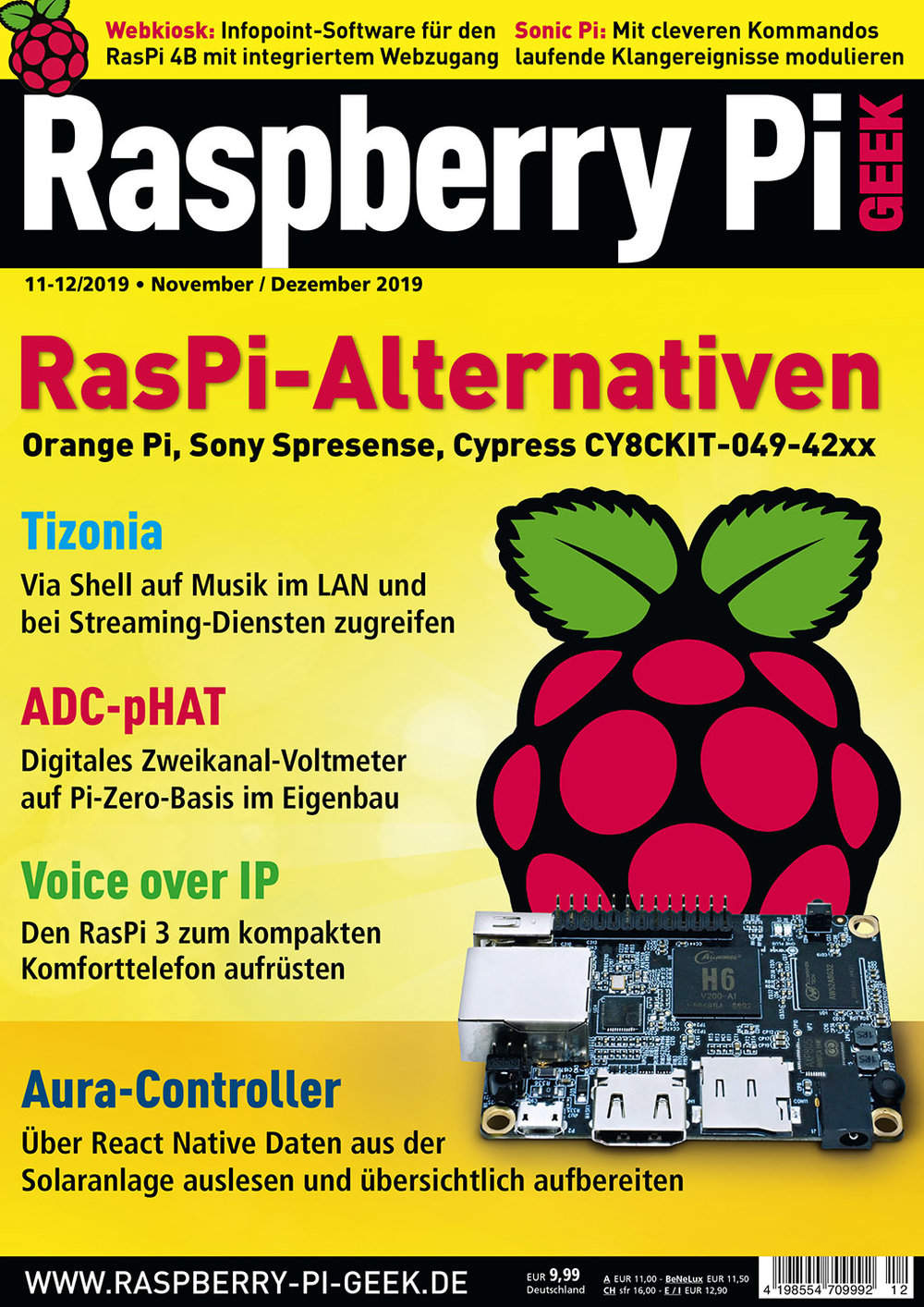 Raspberry Pi Geek 11-12/2019
