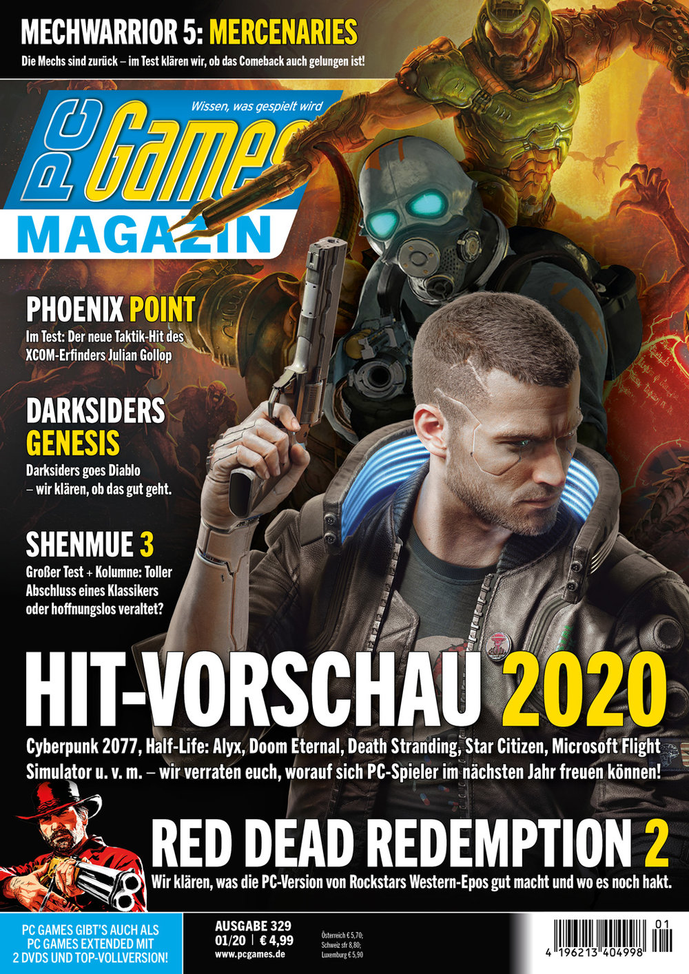 PC Games Magazin 01/2020