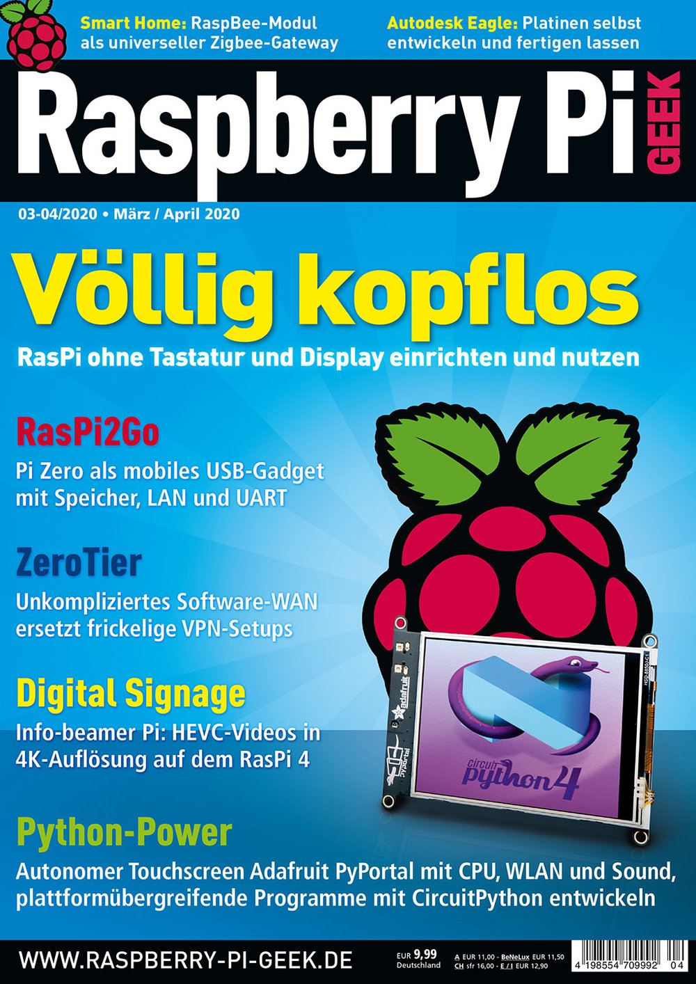 Raspberry Pi Geek 04/2020