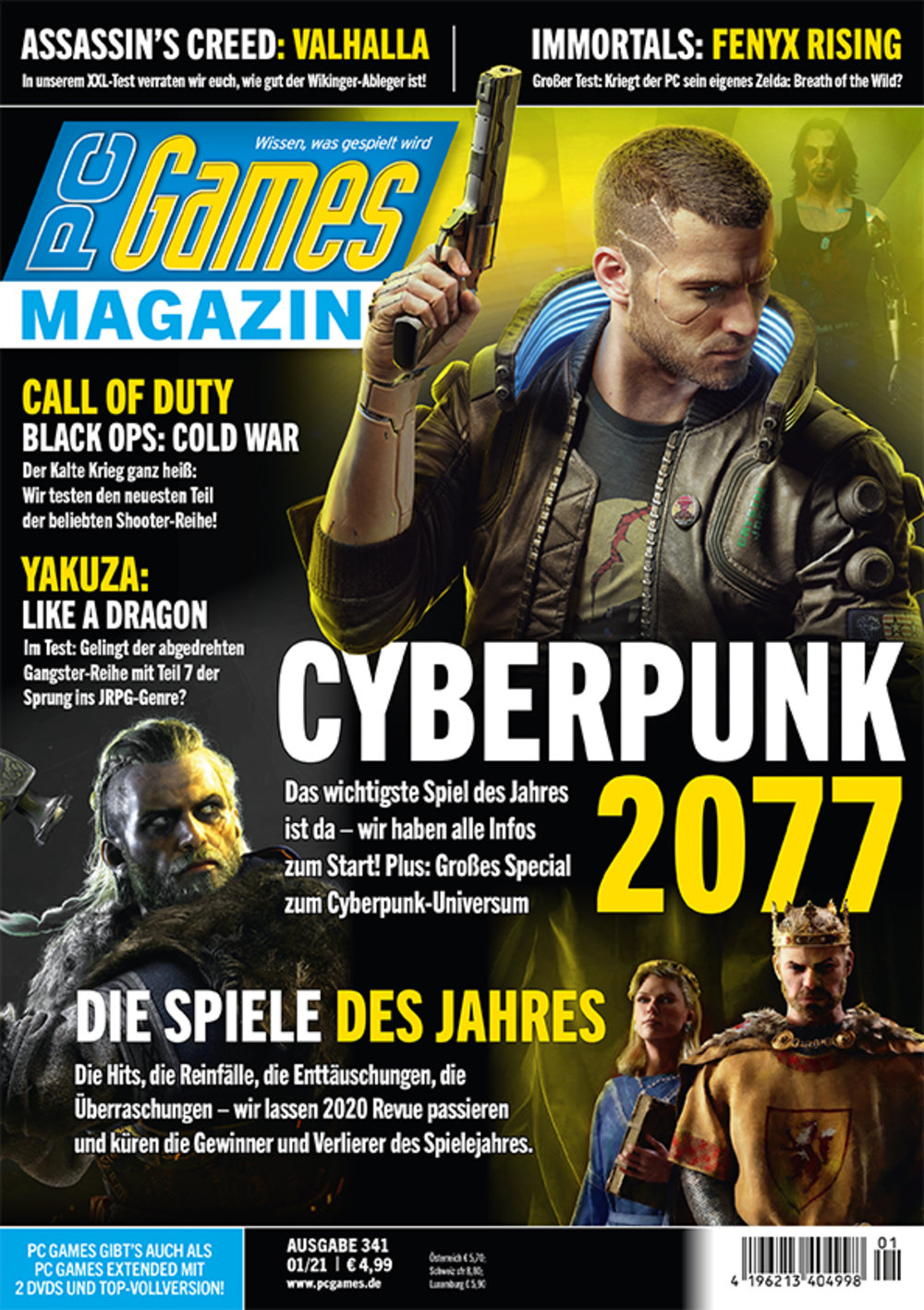 PC Games Magazin ePaper 01/2021