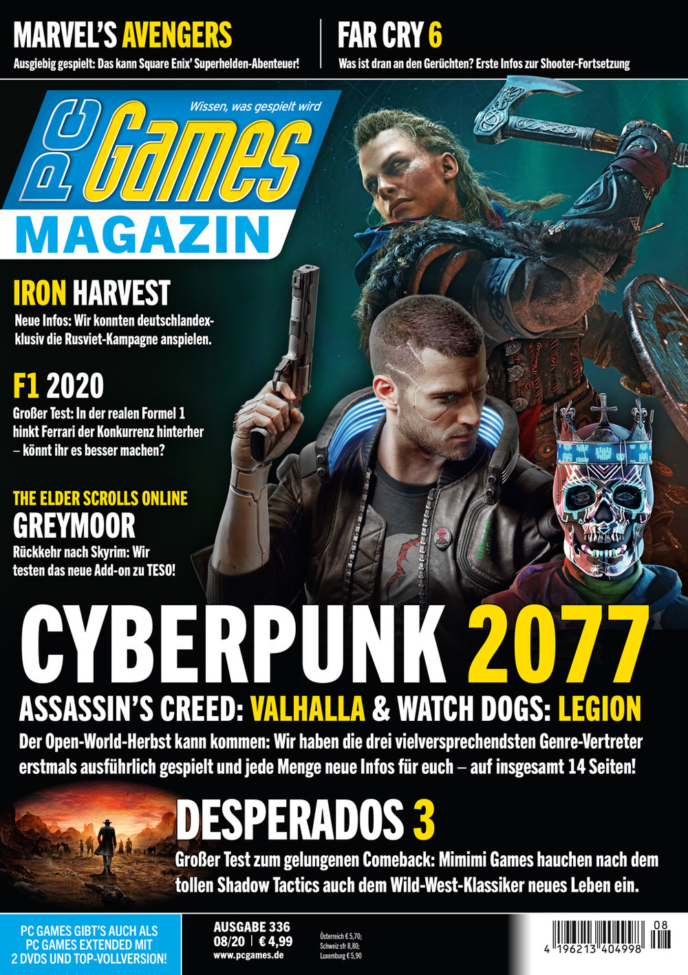 PC Games Magazin 08/2020