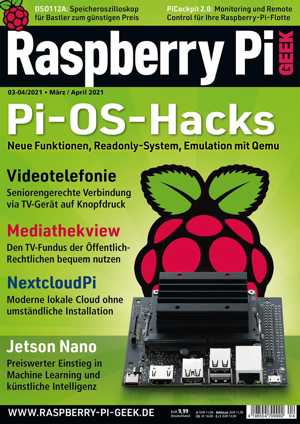 Raspberry Pi Geek 04/2021