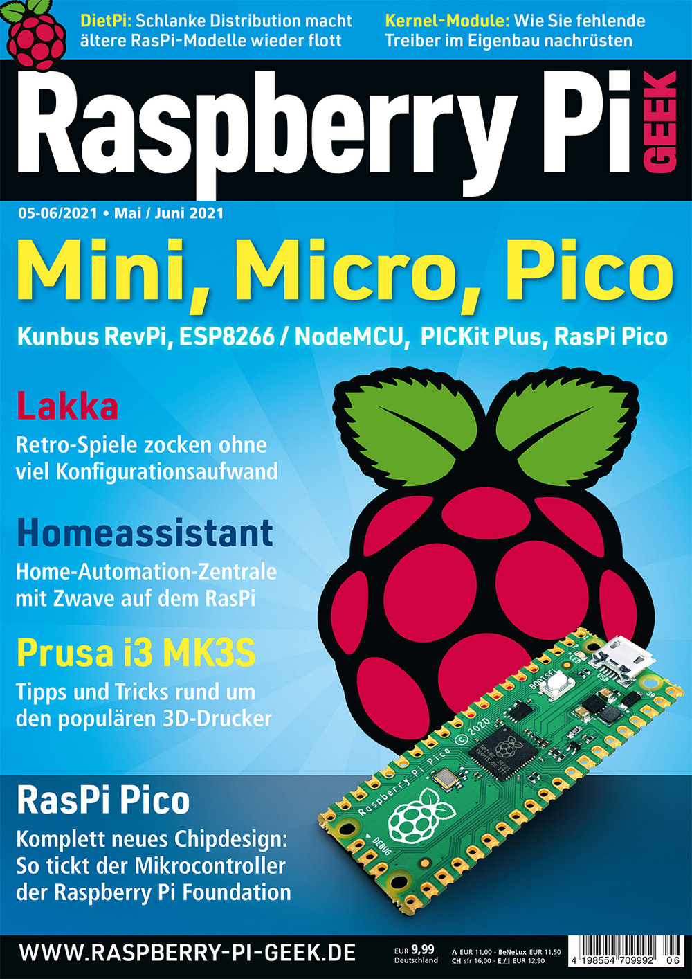 Raspberry Pi Geek Digital Jahresabo-Upgrade