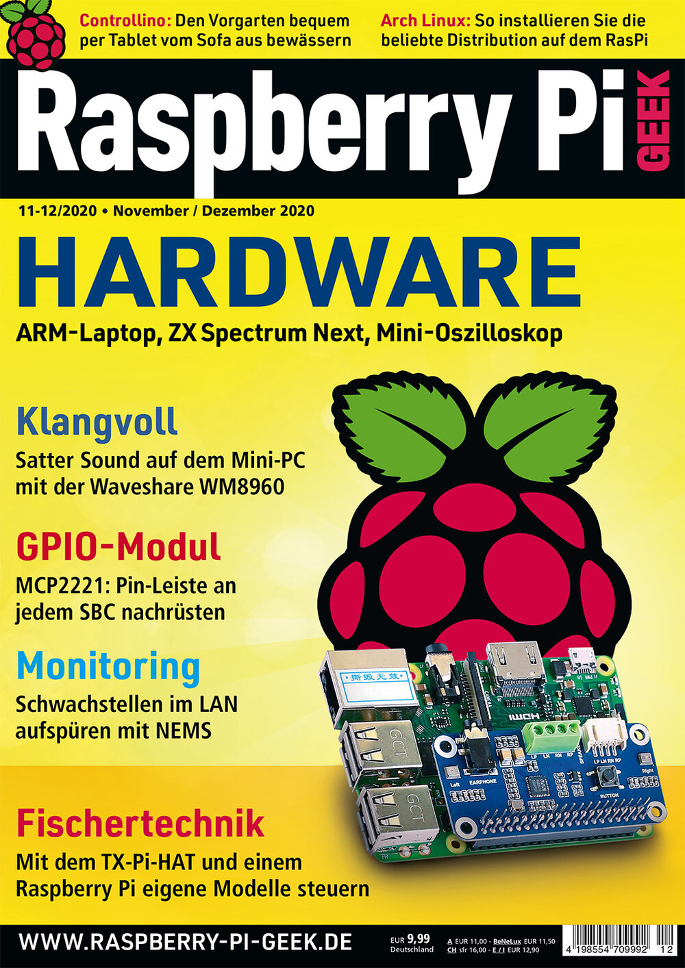 Raspberry Pi Geek 12/2020