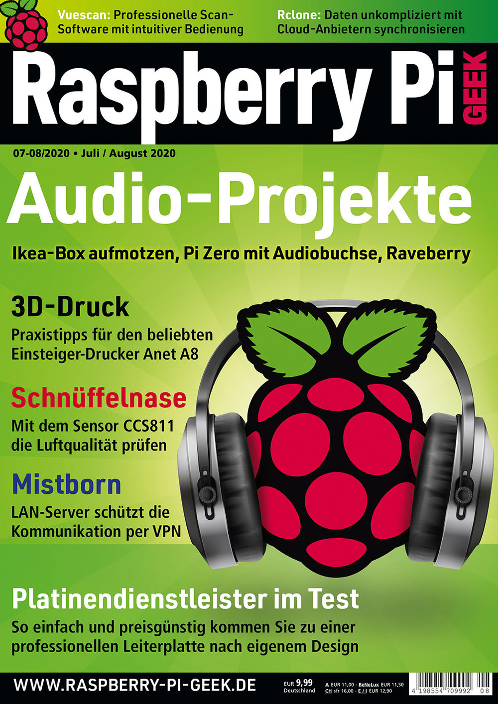 Raspberry Pi Geek 08/2020